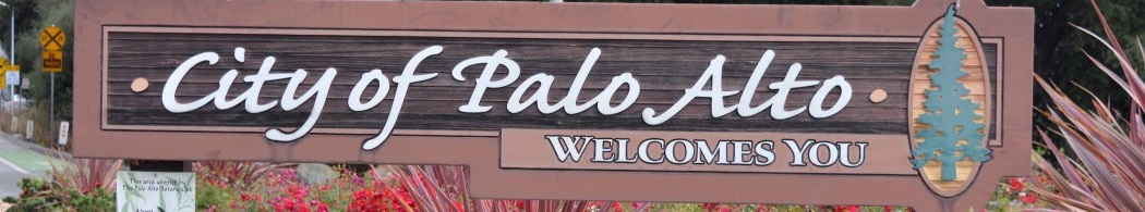 Palo Alto Welcomes You Sign 1050x195