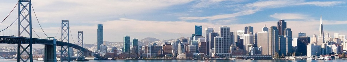San Francisco Skyline 1200x215