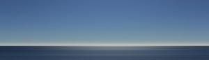 Linkedin Background Image Minimalist Ocean Blue Sky Horizon 1400x400